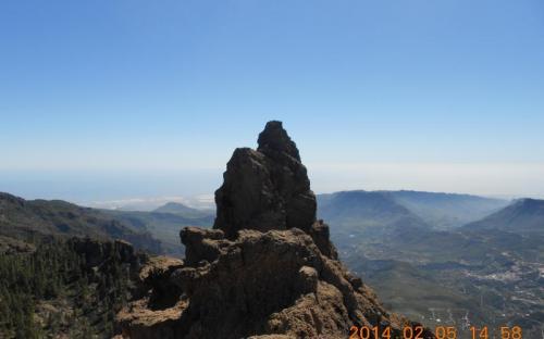 Gran Canaria 1956 m magas csúcsa
