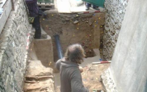 Jelenlegi ásatások