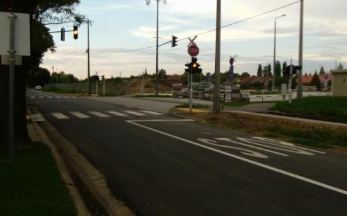 Ruyter és Mák utcai csomópont