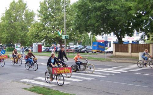 Iskolák bringásai