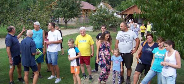 A résztvevők egy csoportja