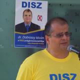 Dr. Dobrossy István a DISZ egyesület polgármesterjelöltje