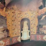 Az edelényi kastély egyik falfestménye