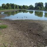 Vekeri-tó maradék víz