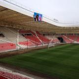 Gyakorlatilag kész a stadion