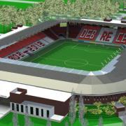 Látványterv - loki stadion